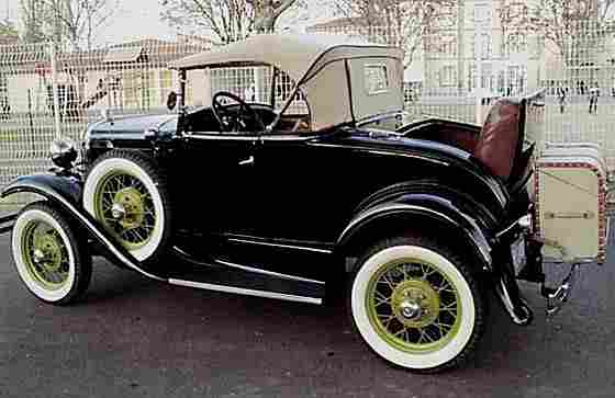 ford a roadster luxe 1931 voitures anciennes de. Black Bedroom Furniture Sets. Home Design Ideas