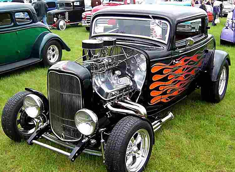 ford model b hot rod voiture routi re de 1932 voitures anciennes de collection v2. Black Bedroom Furniture Sets. Home Design Ideas
