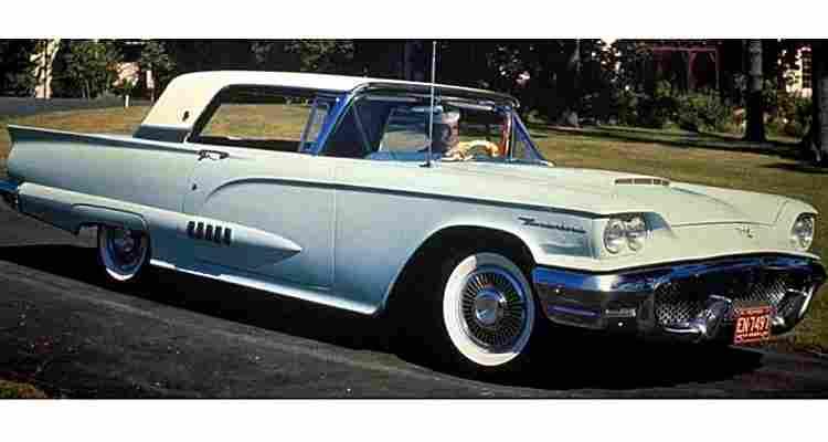 ford thunderbird g2 voiture routi re de 1958 voitures anciennes de collection v2. Black Bedroom Furniture Sets. Home Design Ideas