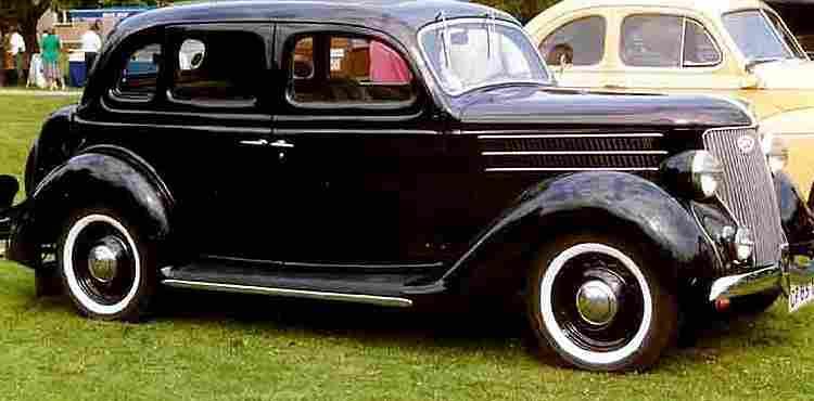 Ford V8 Model 68, voiture routière de 1936, voitures anciennes de collection, v2.