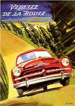 ford vedette 52 voiture routi re de 1952 voitures anciennes de collection v2. Black Bedroom Furniture Sets. Home Design Ideas