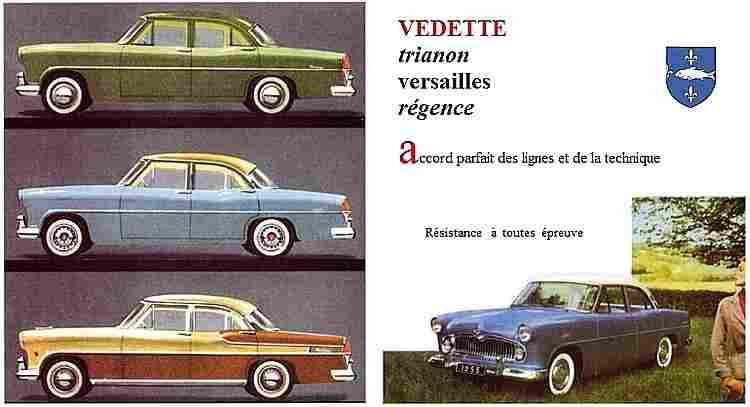 ford vedette 55 voiture routi re de 1955 voitures anciennes de collection v2. Black Bedroom Furniture Sets. Home Design Ideas