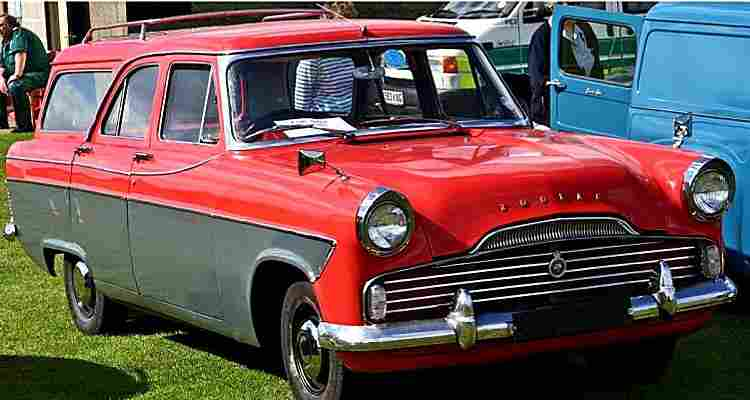ford zodiac estate voiture routi re de 1956 voitures anciennes de collection v2. Black Bedroom Furniture Sets. Home Design Ideas
