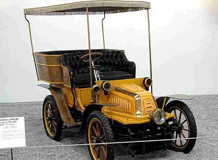 fouillaron 10 hp voiture routi re de 1906 voitures anciennes de collection v2. Black Bedroom Furniture Sets. Home Design Ideas