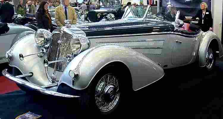 horch 855 voiture routi re de 1938 voitures anciennes de collection v2. Black Bedroom Furniture Sets. Home Design Ideas