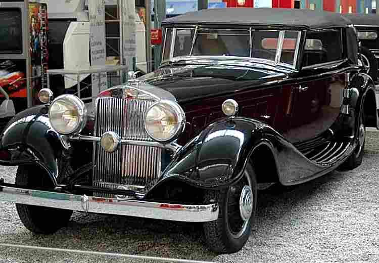 horch type 600 670 voiture routi re de 1931 voitures anciennes de collection v2. Black Bedroom Furniture Sets. Home Design Ideas