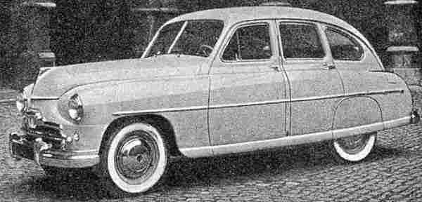 imperia vanguard, voiture routière de 1948, voitures anciennes de