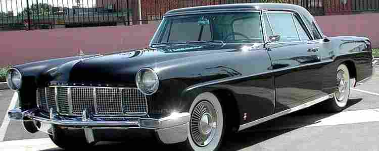 lincoln continental m ii voiture routi re de 1956 voitures anciennes de col. Black Bedroom Furniture Sets. Home Design Ideas