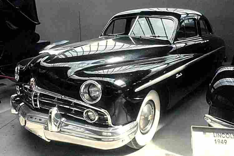 lincoln sedan voiture routi re de 1949 voitures anciennes de collection v2. Black Bedroom Furniture Sets. Home Design Ideas