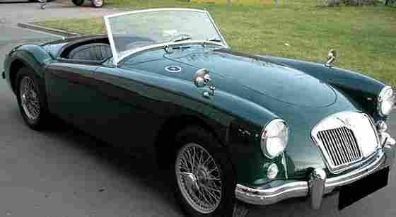 mg a 1957 voitures anciennes de collection v2. Black Bedroom Furniture Sets. Home Design Ideas