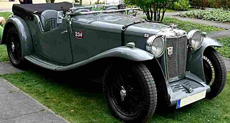 mg k type magnette voiture routi re de 1932 voitures anciennes de collection v2. Black Bedroom Furniture Sets. Home Design Ideas