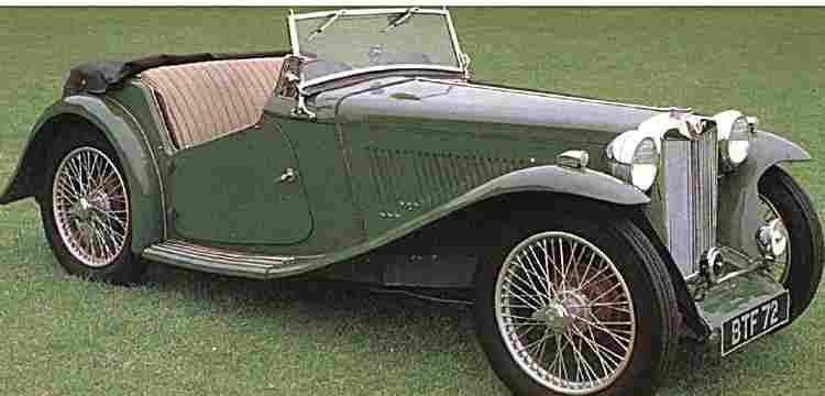 mg ta voiture routi re de 1938 voitures anciennes de collection v2. Black Bedroom Furniture Sets. Home Design Ideas