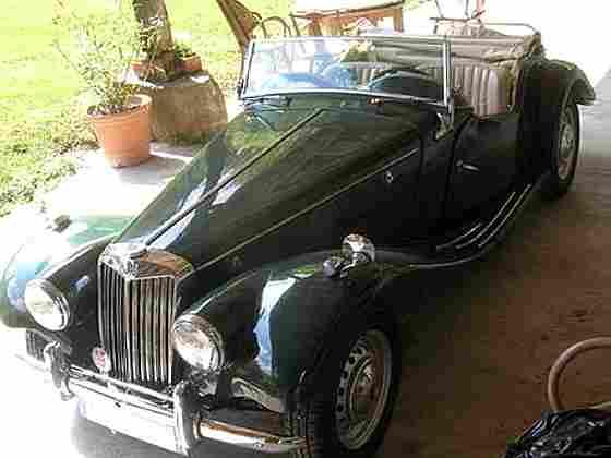 mg tf d capotable 1954 voitures anciennes de collection v2. Black Bedroom Furniture Sets. Home Design Ideas