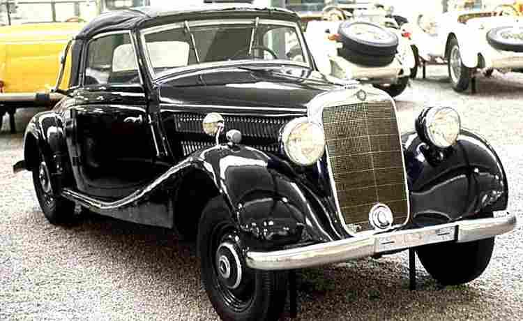 mercedes benz 170 v voiture routi re de 1936 voitures anciennes de collection v2. Black Bedroom Furniture Sets. Home Design Ideas