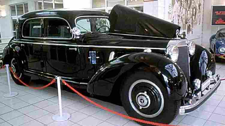 mercedes benz 770 g2 voiture routi re de 1938 voitures anciennes de collection v2. Black Bedroom Furniture Sets. Home Design Ideas
