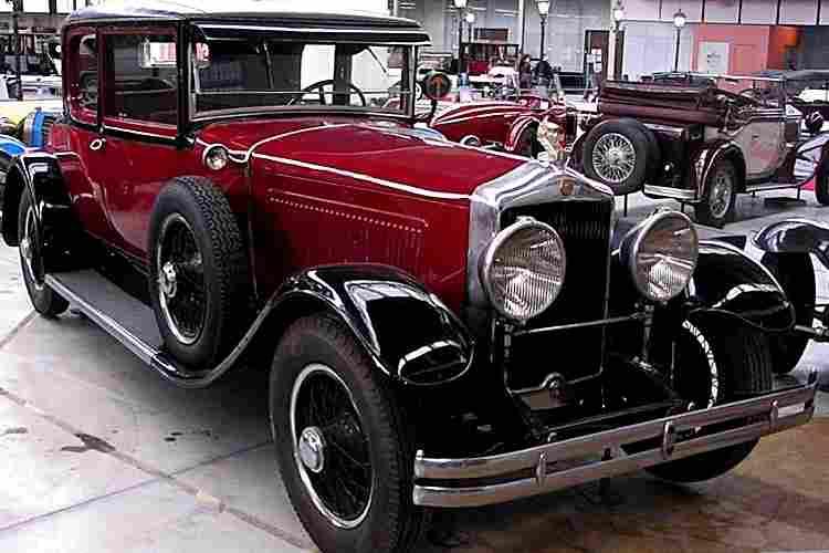 les voitures automobiles de la marque minerva, voitures anciennes de