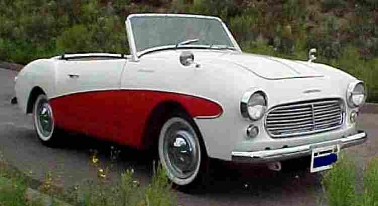 nissan s 211 et spl, voiture routière de 1959, voitures anciennes de