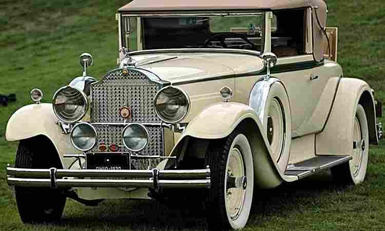 packard eight standard 726 voiture routi re de 1930 voitures anciennes de collection v2. Black Bedroom Furniture Sets. Home Design Ideas