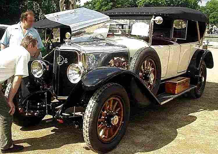 panhard et levassor x33 voiture routi re de 1921 voitures anciennes de collection v2. Black Bedroom Furniture Sets. Home Design Ideas