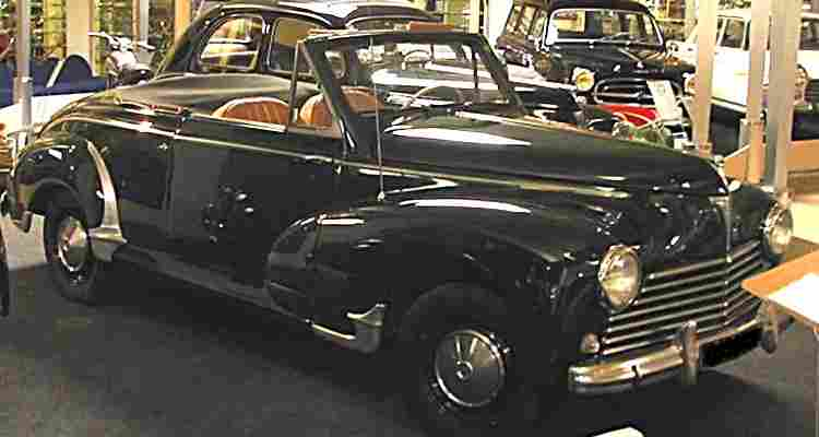 peugeot 203 cabriolet voiture routi re de 1952 voitures. Black Bedroom Furniture Sets. Home Design Ideas