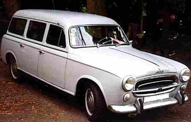 peugeot 403 familiale voiture routi re de 1957 voitures anciennes de collection v2. Black Bedroom Furniture Sets. Home Design Ideas