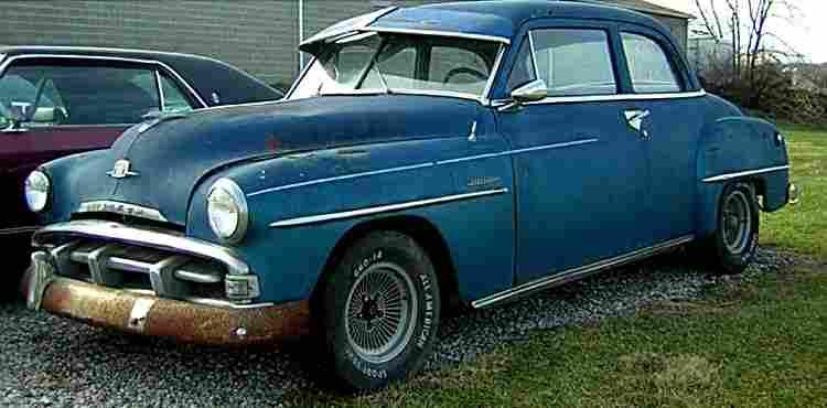 Plymouth P17 18 19 20 Voiture Routi 232 Re De 1950