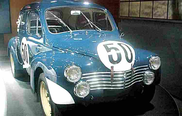 renault 4cv 1063 voiture de course de 1951 voitures. Black Bedroom Furniture Sets. Home Design Ideas