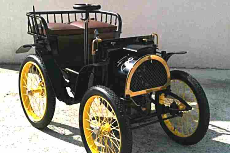 renault type a voiture prototype de 1898 voitures anciennes de collection v2. Black Bedroom Furniture Sets. Home Design Ideas