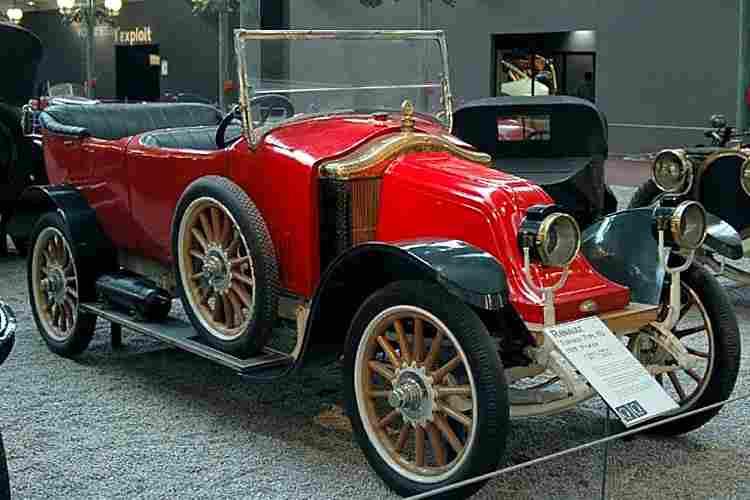 renault type eu voiture routi re de 1919 voitures anciennes de collection v2. Black Bedroom Furniture Sets. Home Design Ideas