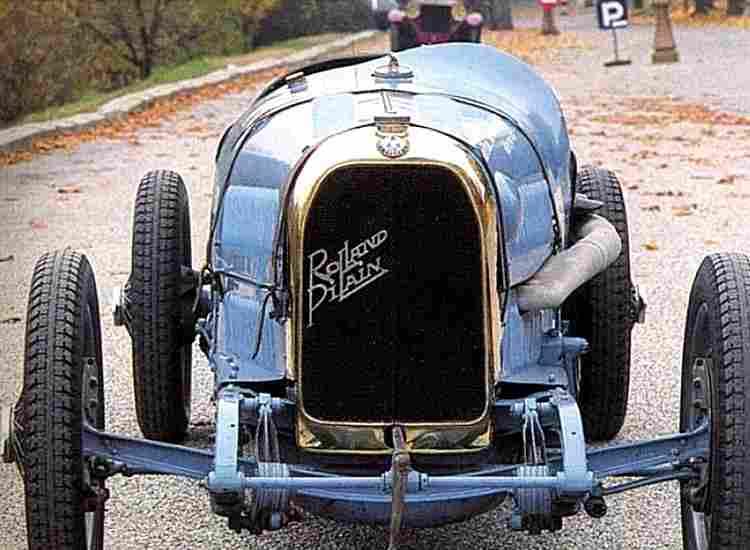 rolland pilain a22 grand prix voiture de course de 1923. Black Bedroom Furniture Sets. Home Design Ideas