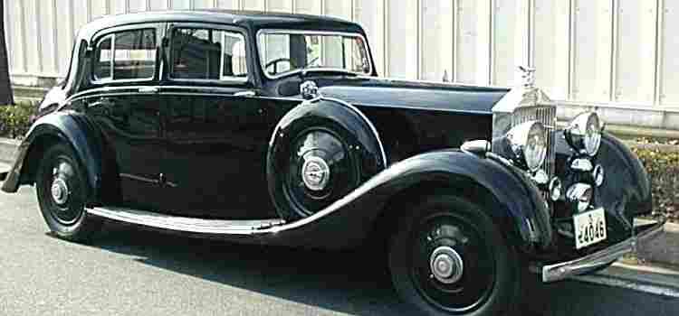 les voitures automobiles de la marque rolls royce voitures anciennes de collection v2. Black Bedroom Furniture Sets. Home Design Ideas