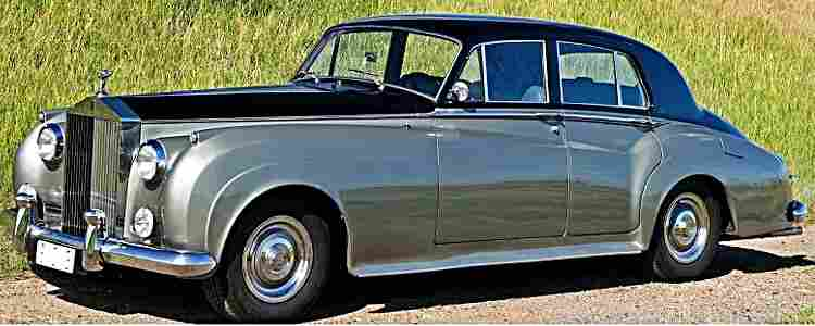 rolls royce silver cloud i voiture routi re 1955 voitures anciennes de collection v2. Black Bedroom Furniture Sets. Home Design Ideas