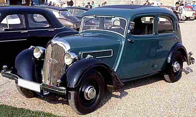 Rosengart lr130 lr145 et lr155 voiture routi 232 re de 1934 voitures