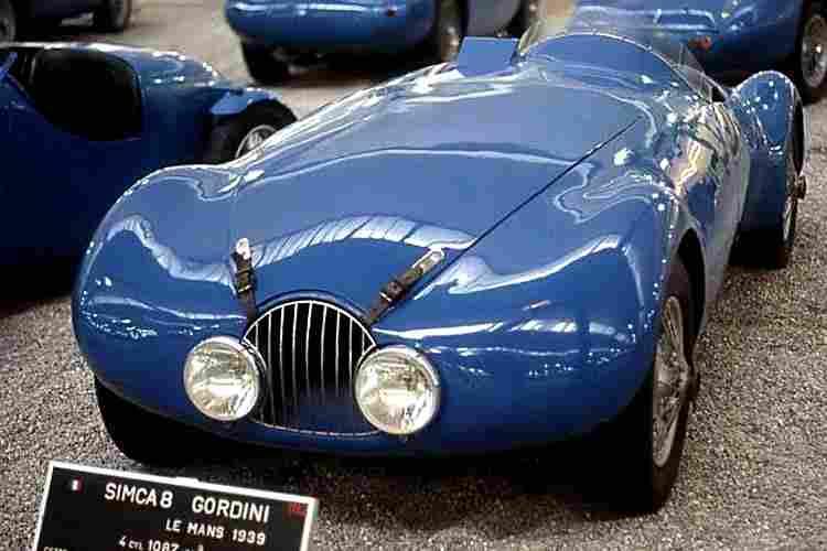 simca 8 sport gordini voiture de course de 1939 voitures anciennes de collection v2. Black Bedroom Furniture Sets. Home Design Ideas