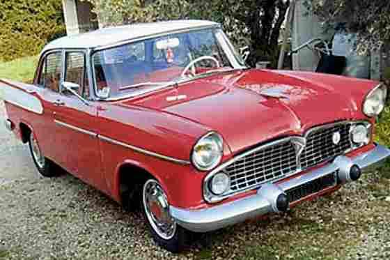 simca beaulieu 1958 voitures anciennes de collection v2. Black Bedroom Furniture Sets. Home Design Ideas