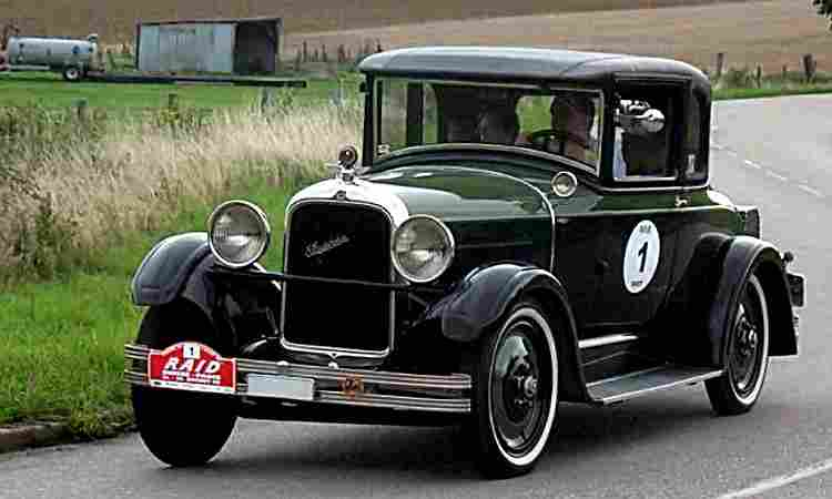 de 1920 à 1929, page 1, les voitures anciennes de collection, v1.