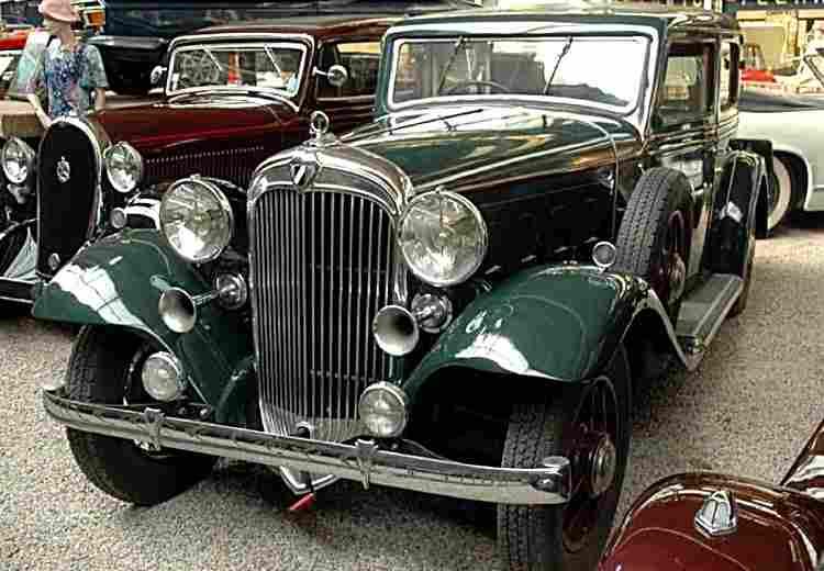 talbot h75 voiture routi re de 1932 voitures anciennes de collection v2. Black Bedroom Furniture Sets. Home Design Ideas
