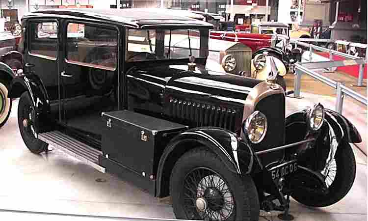 voisin c14 voiture routi re de 1928 voitures anciennes de collection v2. Black Bedroom Furniture Sets. Home Design Ideas