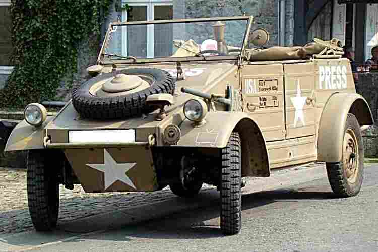volkswagen kubelwagen voiture militaire de 1940 voitures. Black Bedroom Furniture Sets. Home Design Ideas