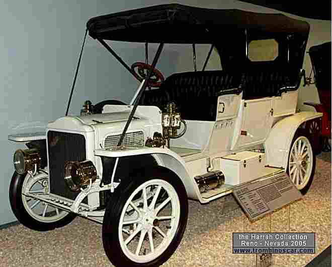 white model o touring voiture routi re de 1909 voitures anciennes de collection v2. Black Bedroom Furniture Sets. Home Design Ideas