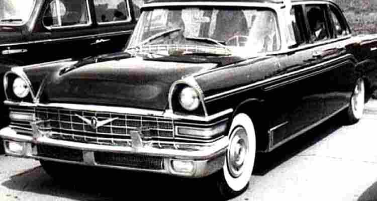 zil 111, voiture routière de 1959, voitures anciennes de collection, v2.