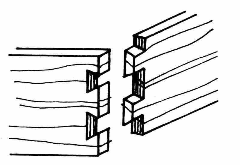 La construction des meubles anciens le guide du meuble for Dessin de construction du meuble