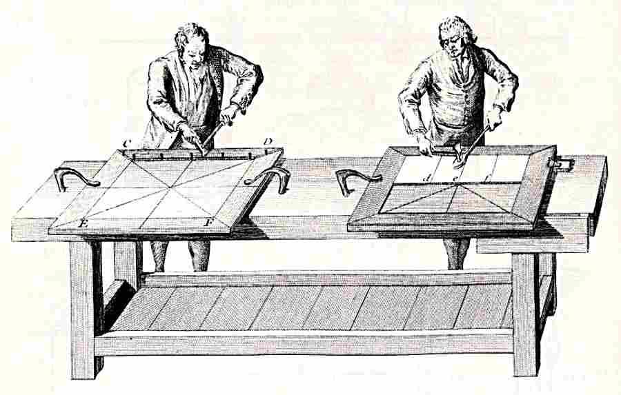 Menuisiers et b nistes la construction des meubles for Dessin de construction du meuble