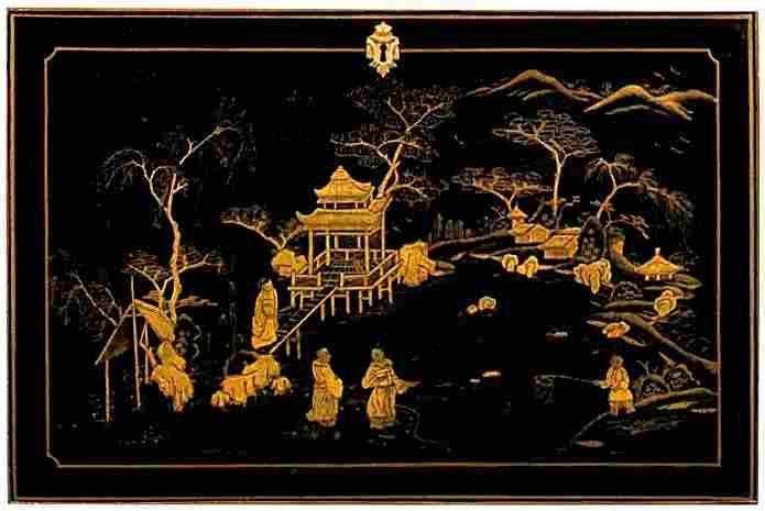 Les proc d s de d coration les laques construction des for Meuble ancien chinois