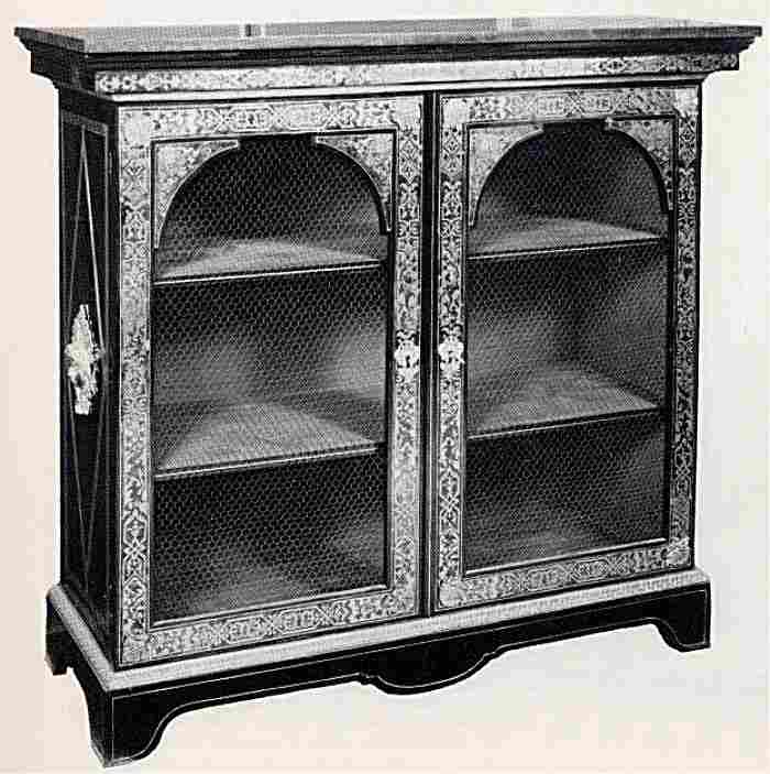les biblioth ques et les vitrines en images meubles anciens valeur refuge. Black Bedroom Furniture Sets. Home Design Ideas