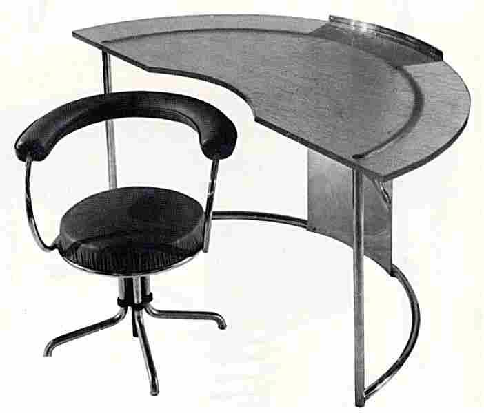 Les bureaux et tables crire en images meubles anciens valeur refuge - Bureau charlotte perriand ...