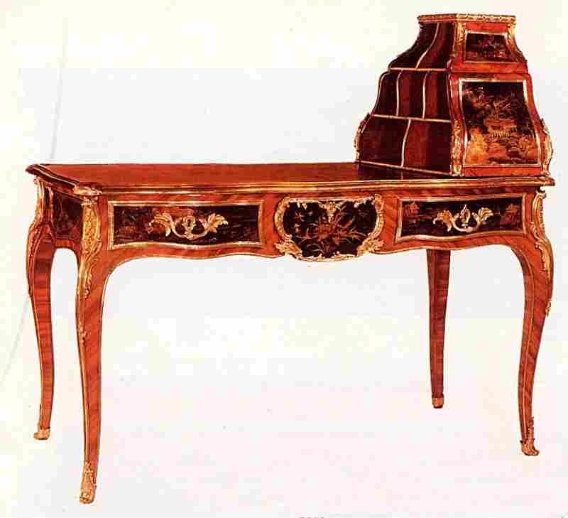 les bureaux et tables crire en images meubles anciens. Black Bedroom Furniture Sets. Home Design Ideas
