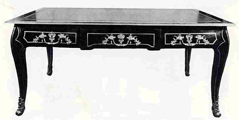 Les bureaux et tables à écrire en images meubles anciens valeur