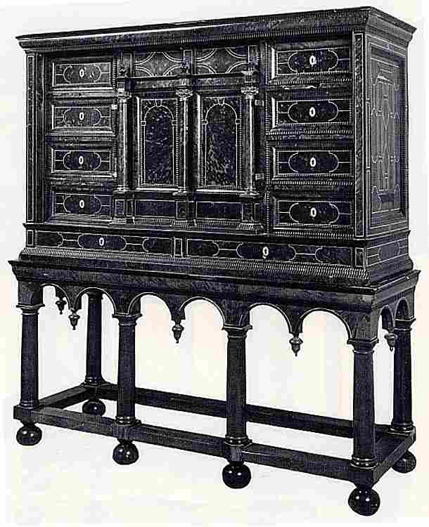 Les cabinets en images les meubles anciens une valeur refuge for Meuble porte secrete