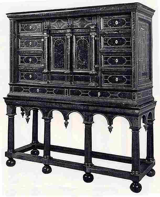 les cabinets en images les meubles anciens une valeur refuge. Black Bedroom Furniture Sets. Home Design Ideas